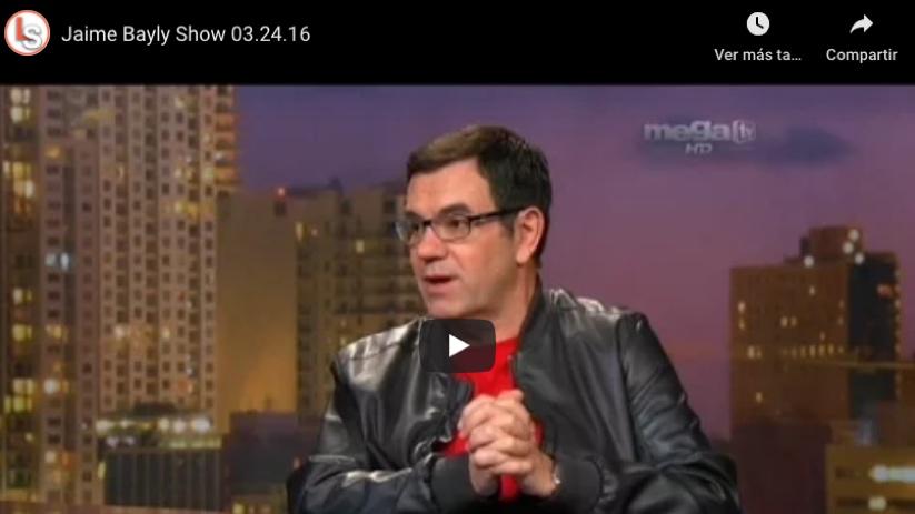 Laureano en el show de Jaime Bayly