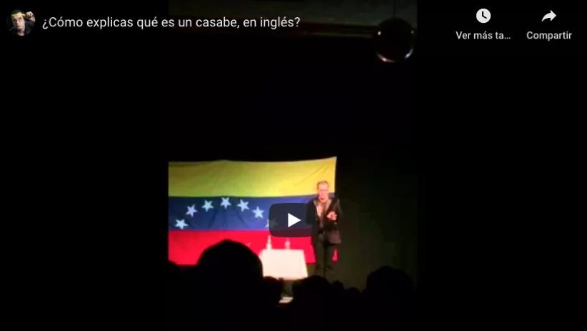 Sobre el escenario - Como explicas qué es un casabe en inglés
