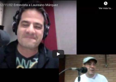 Entrevista a Laureano en La Mega