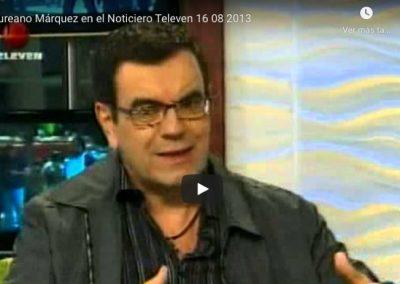 Entrevista en Noticiero Televen