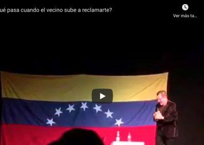 ¿Qué pasa en Venezuela cuando un vecino sube a reclamar?