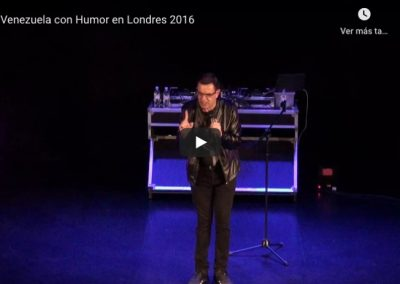 De Venezuela con Humor en Londres