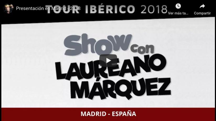 Tour - Madrid 2018