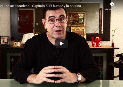 Laureano se encadena – Capítulo 5: El humor y la política